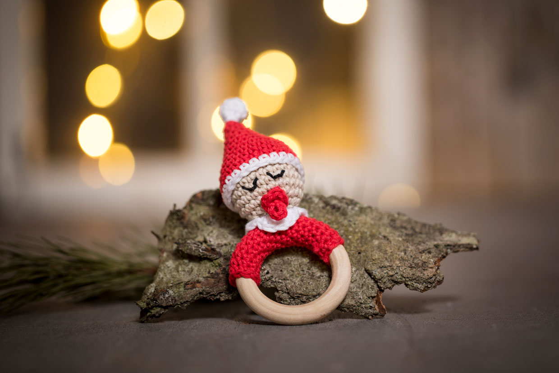 heklet julepynt