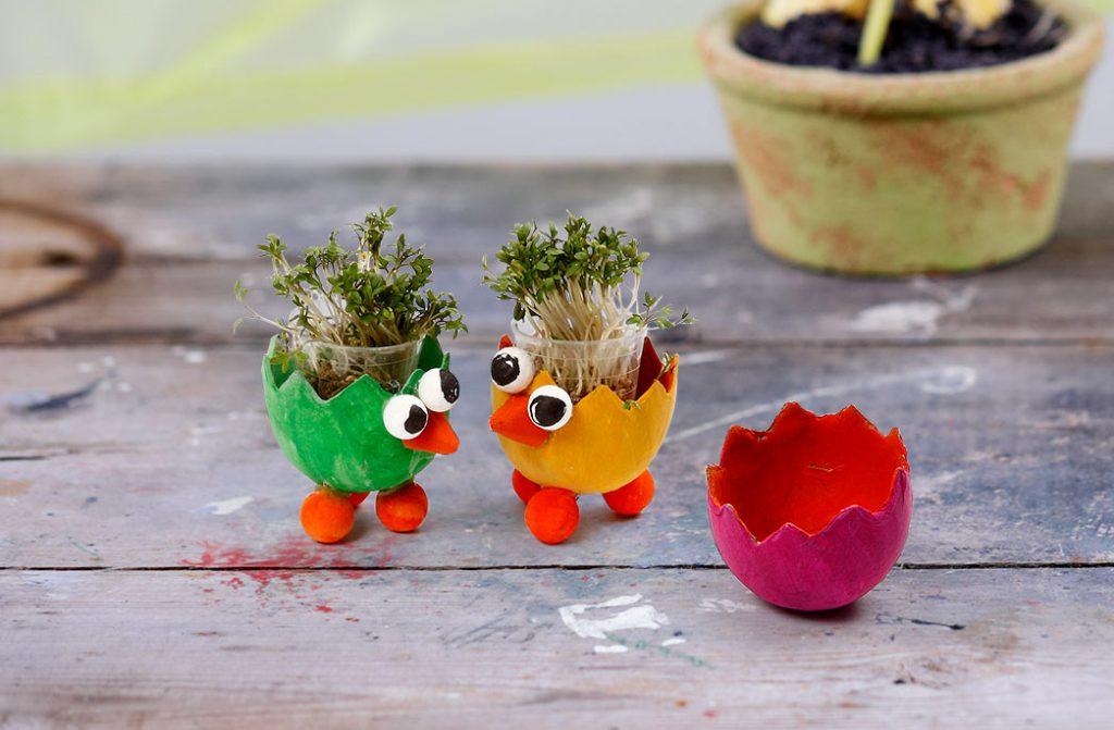 Påske og påskepynt: Pynt med dine påskespirer