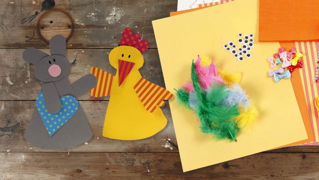 Påske og påskepynt: Papirklipp til påsken