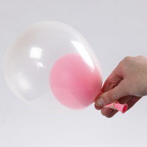 Baby shower ballong idé