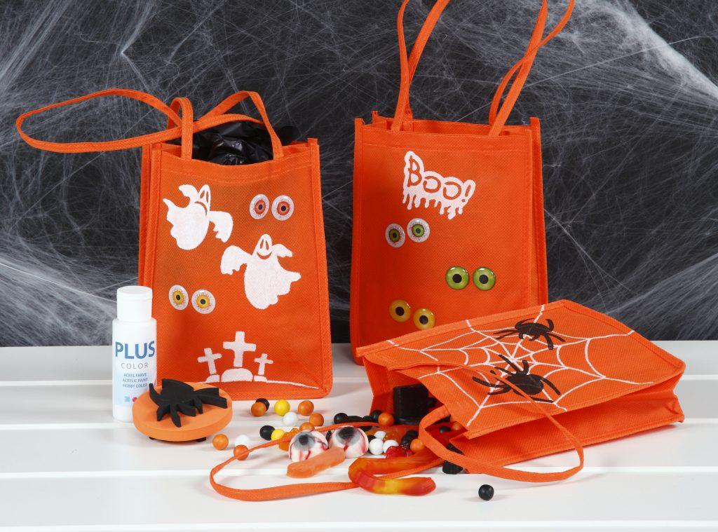 Kreativ halloween lag selv pynt til trick or treat