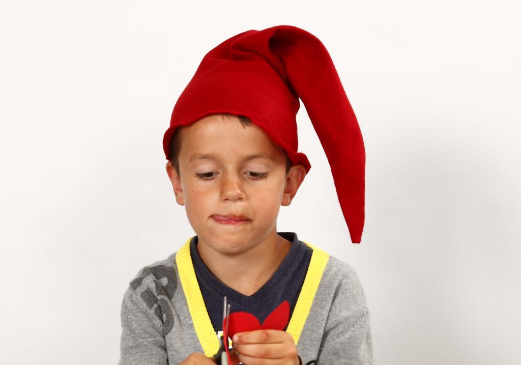 Lag selv en sydd nisselue til jul - inspirasjon
