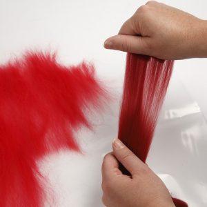 Lav selv en filtet nissehue til jul - inspiration.