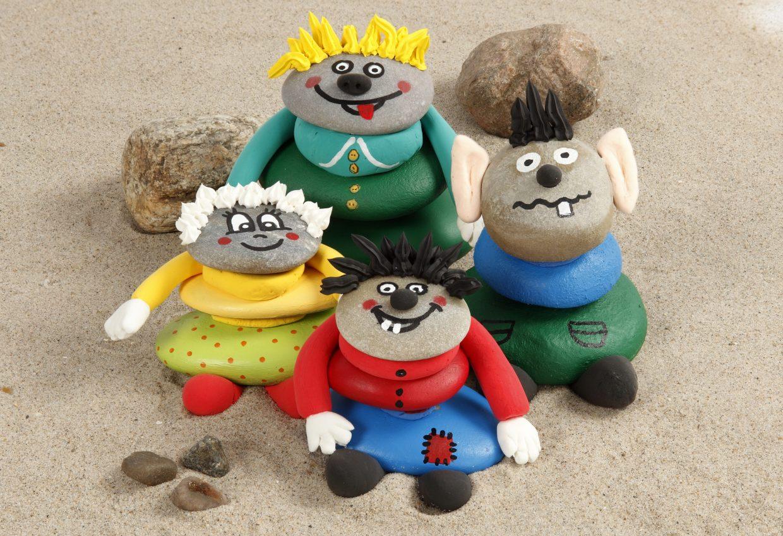 kreative idéer til barn - med inspirasjon og tips til å male på sten