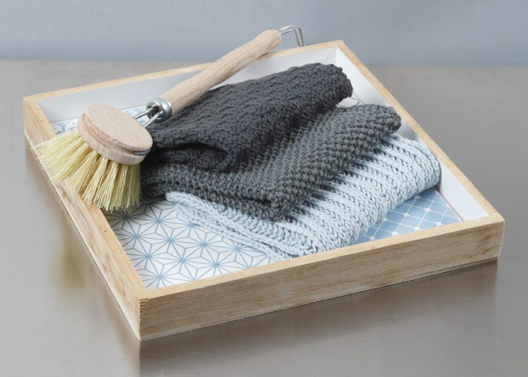 Kreative idéer med garn - hekle, strikke, broderi med punch needle, DIY vegtepper
