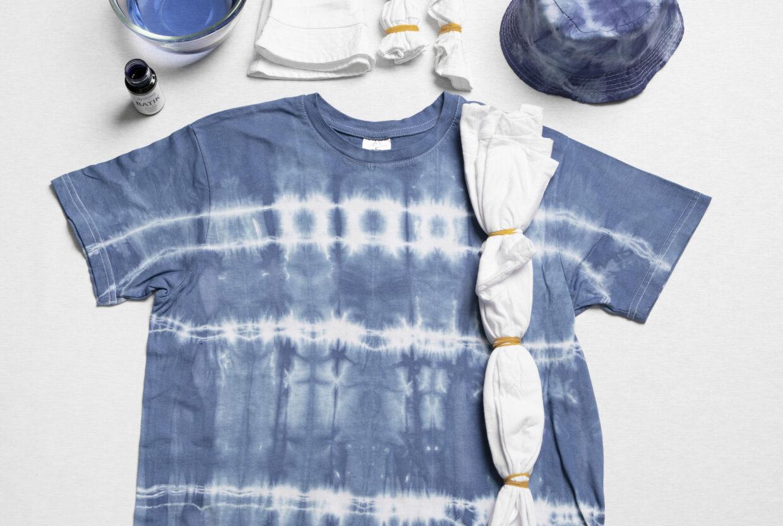 Vær kreativ med batik (tie dye) og tekstildekorasjon