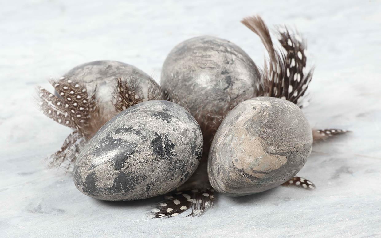Påskeegg: Egg a la marmor til påske
